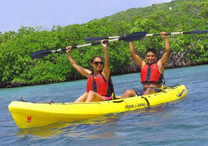St Thomas Kayak Snorkeling
