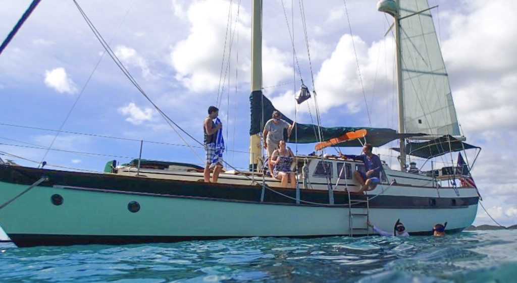 St Thomas Sailing and Snorkeling excursion