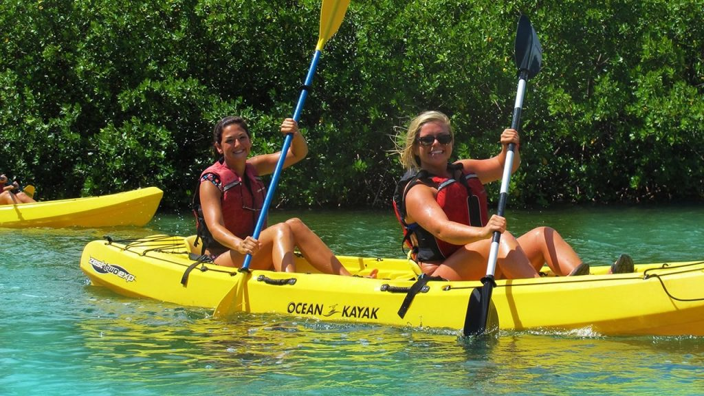 St Thomas Kayak mangrove Snorkeling
