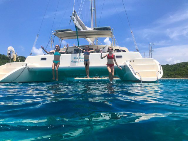 Family Catamaran Tours in St Thomas