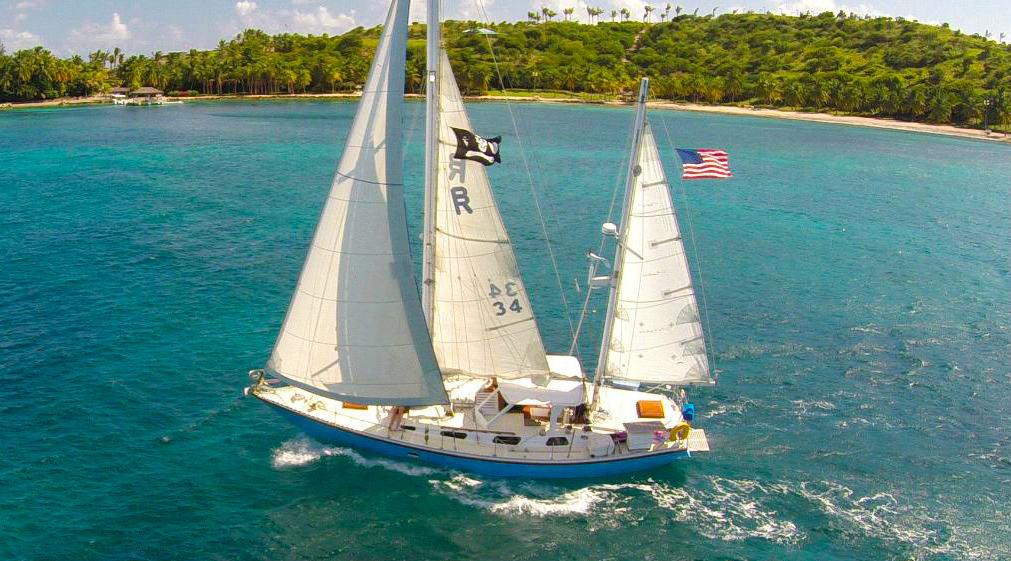 St Thomas sailing Charters to St John