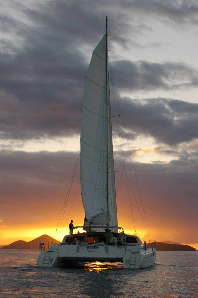 St Thomas to St John Catamaran tours