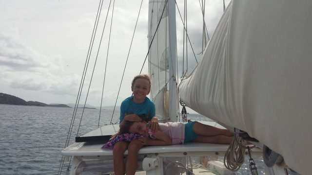 family sailing st thomas